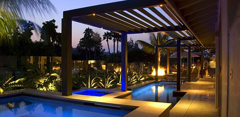 PERGOLA, PAVILION, GAZEBO CEILING LIGHTING - Pergola Lighting - Pavilion Lighting - Gazebo Lighting - AspectLED