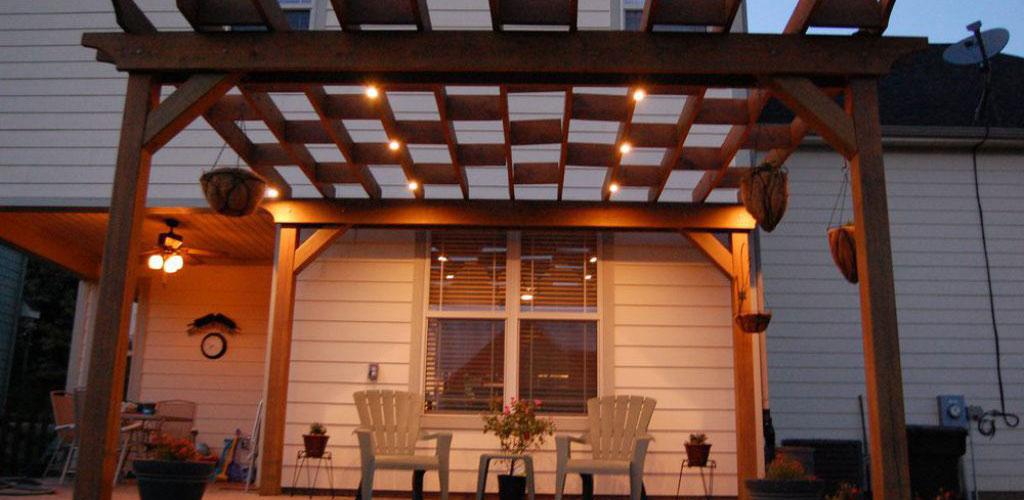 Pergola Lighting Pavilion Lighting Gazebo Lighting