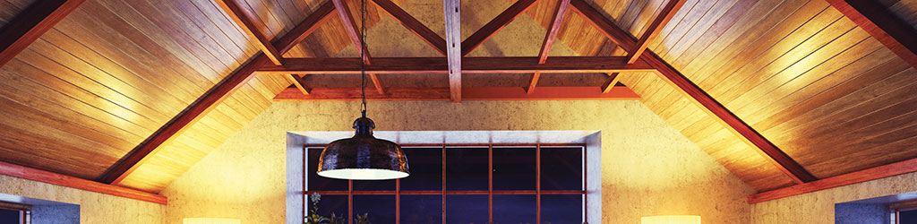 structurally integrated panel roof lighting