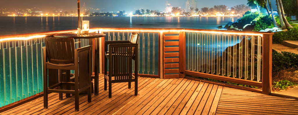 Led deck lighting do it yourself projects aspectled led deck lighting aloadofball Choice Image