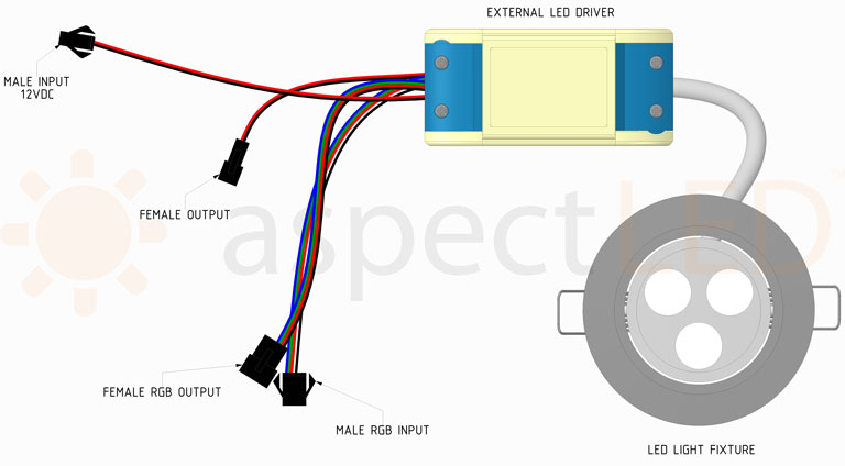 LED Color Changing Recessed Light Installation Guide - aspectLED