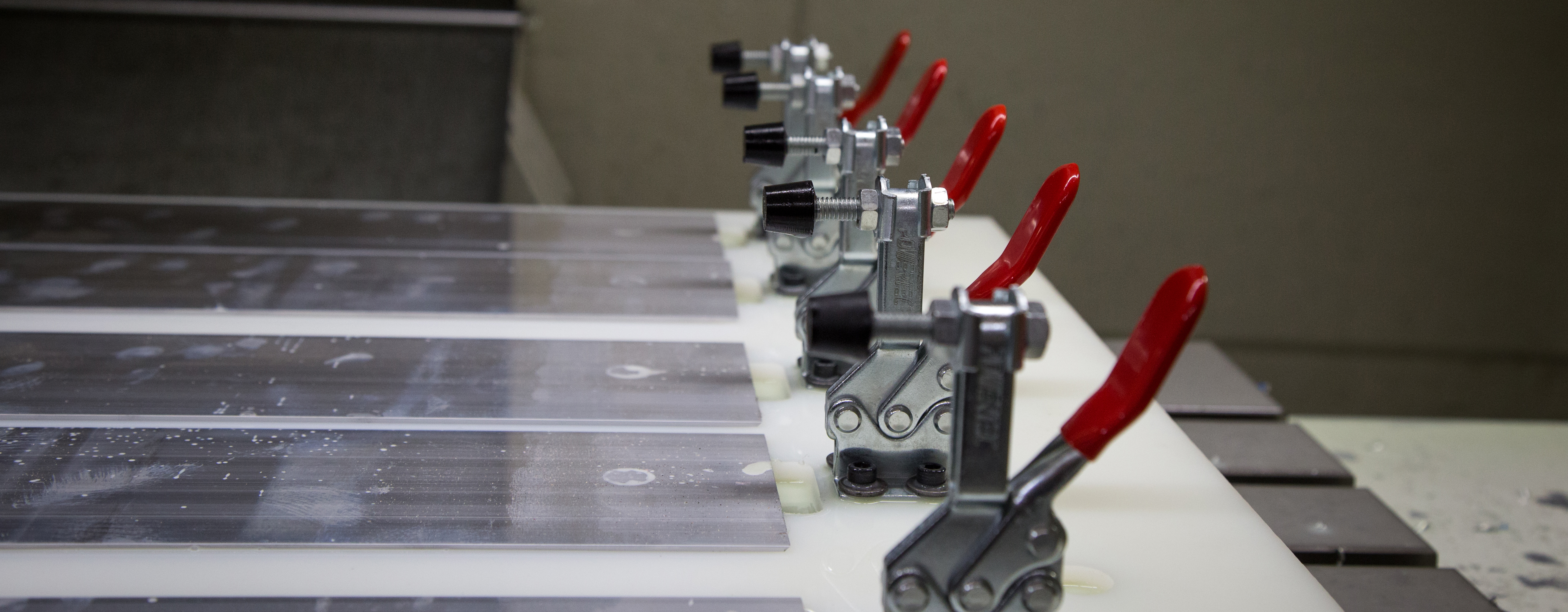 CNC Jig Fixture with Clamps