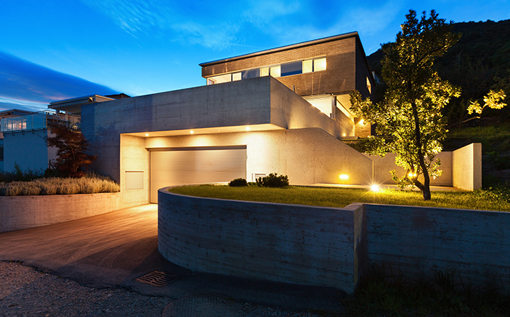 Recessed Exterior LED Lights