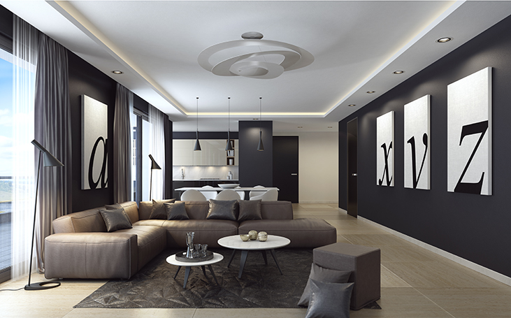 LED Cove and Recessed Lighting