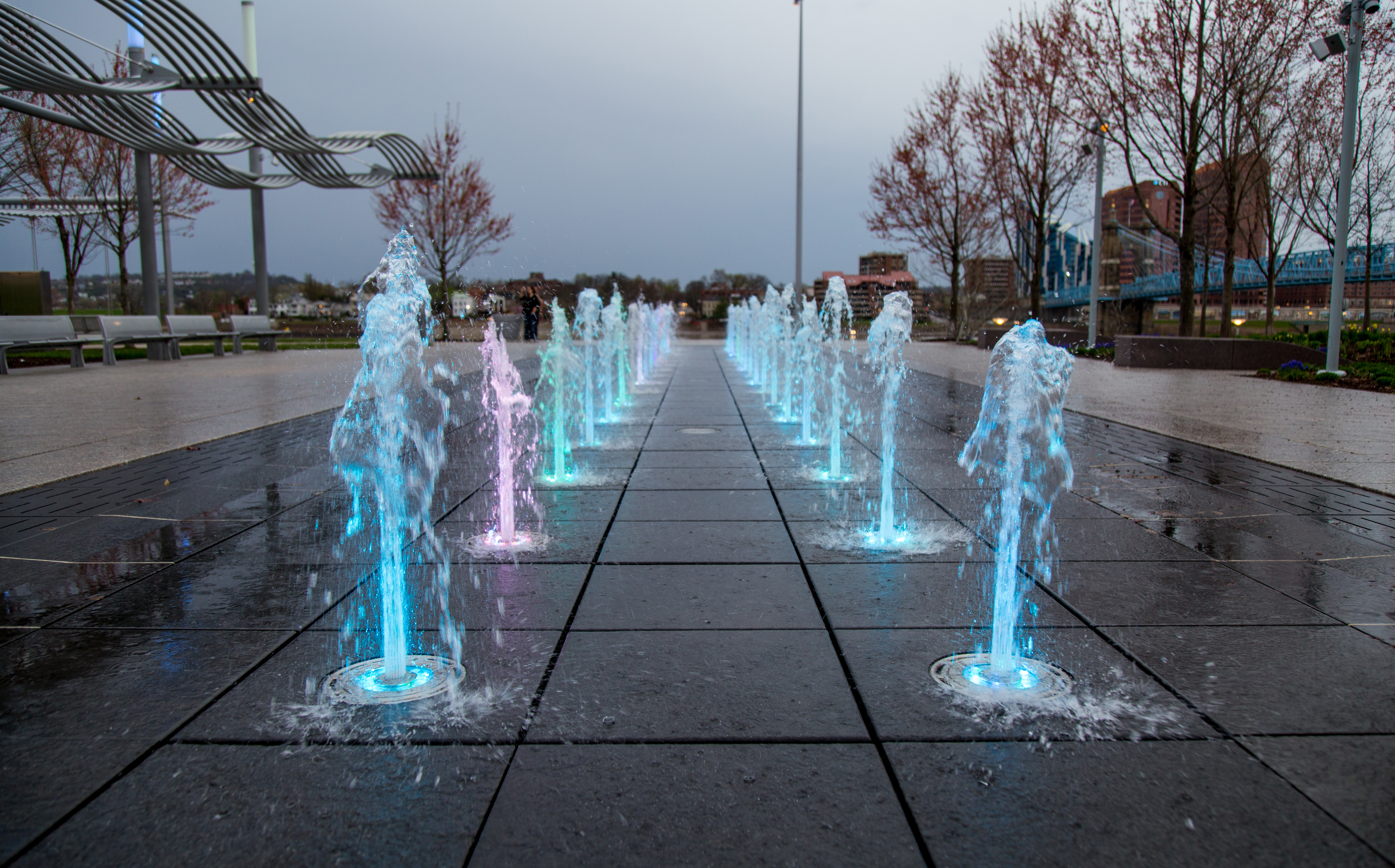 In-Ground Fountain Nozzle Lights