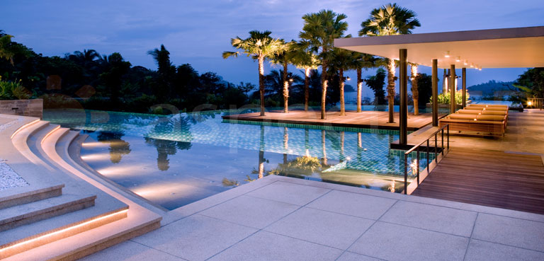 Modern outdoor LED lighting