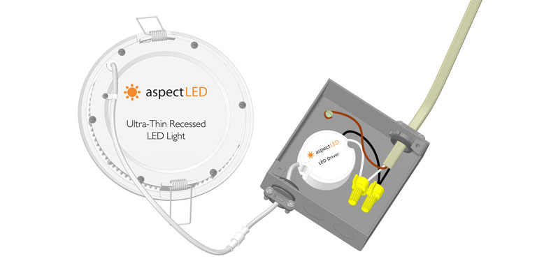 Ultra-Thin Recessed LED Fixture Installation Guide – aspectLED